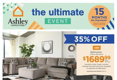 Ashley HomeStore (ON) Flyer March 2 to 8