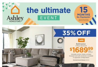 Ashley HomeStore (West) Flyer March 2 to 8