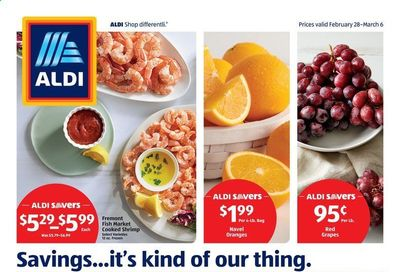ALDI (KY, OH, WV) Weekly Ad Flyer February 28 to March 6