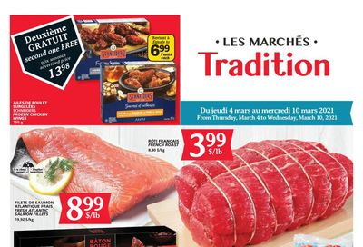 Marche Tradition (QC) Flyer March 4 to 10
