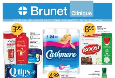 Brunet Clinique Flyer March 4 to 17