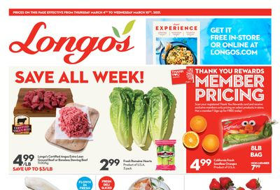 Longo's Flyer March 4 to 10