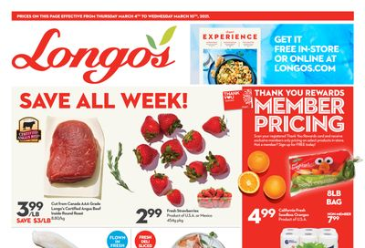 Longo's (Ancaster) Flyer March 4 to 10