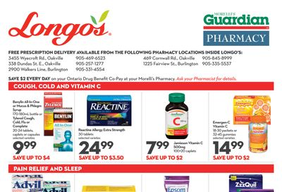 Longo's Pharmacy Flyer March 4 to April 7