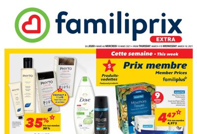 Familiprix Extra Flyer March 4 to 10