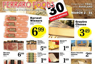 Ferraro Foods Monthly Flyer March 2 to 31
