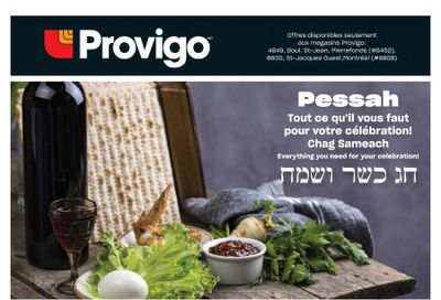Provigo Passover Flyer March 4 to April 1