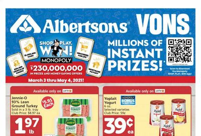 Albertsons Weekly Ad Flyer March 3 to March 9