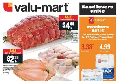 Valu-mart Flyer March 4 to 10