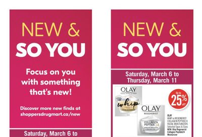 Shoppers Drug Mart (ON) Flyer March 6 to 11