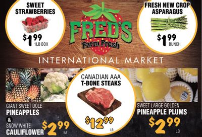 Fred's Farm Fresh Flyer March 3 to 9
