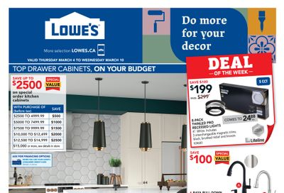Lowe's Flyer March 4 to 10