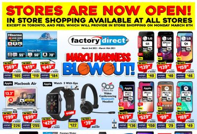 Factory Direct Flyer March 3 to 10