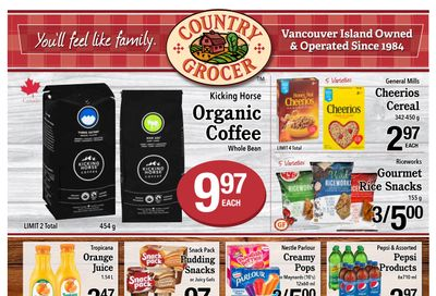 Country Grocer (Salt Spring) Flyer March 3 to 9