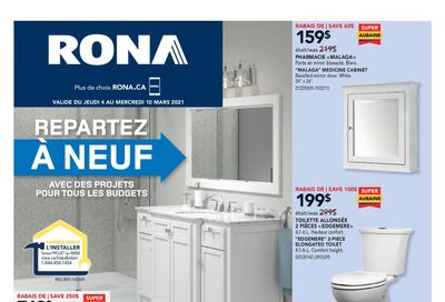 Rona (QC) Flyer March 4 to 10