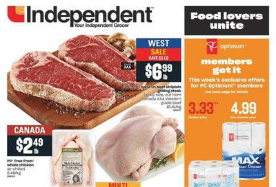 Independent Grocer (West) Flyer March 4 to 10
