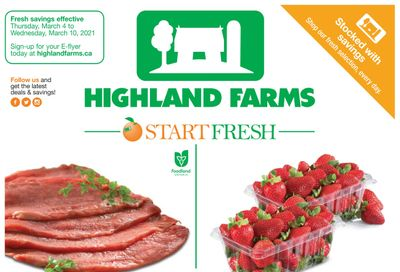 Highland Farms Flyer March 4 to 10