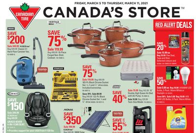 Canadian Tire (ON) Flyer March 5 to 11