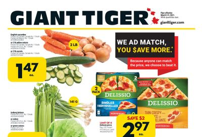 Giant Tiger (West) Flyer March 3 to 9