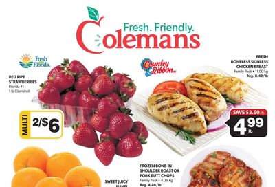 Coleman's Flyer March 4 to 10