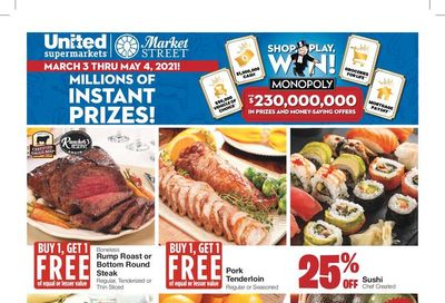 United Supermarket Weekly Ad Flyer March 3 to March 9, 2021