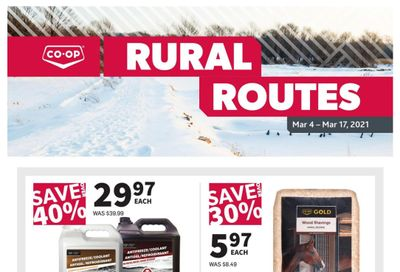 Co-op (West) Rural Routes Flyer March 4 to 17
