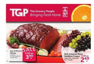 TGP The Grocery People Flyer March 4 to 10
