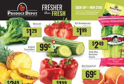 Produce Depot Flyer March 3 to 9