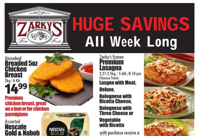 Zarky's Flyer March 3 to 9