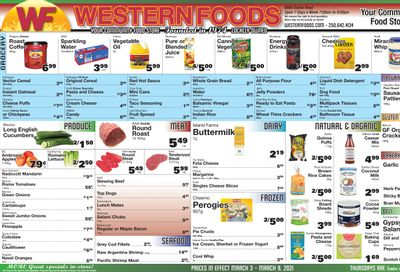 Western Foods Flyer March 3 to 9
