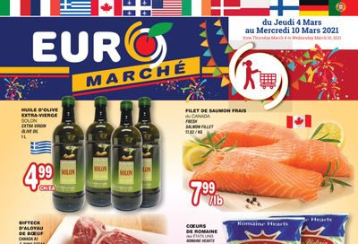 Euro Marche Flyer March 4 to 10