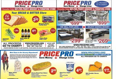 Price Pro Flyer March 3 to 9