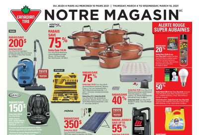 Canadian Tire (QC) Flyer March 4 to 10