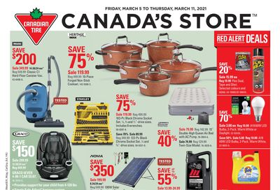 Canadian Tire (West) Flyer March 5 to 11