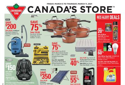 Canadian Tire (Atlantic) Flyer March 5 to 11