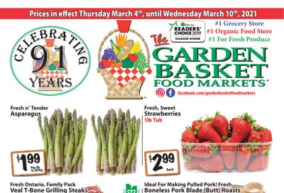 The Garden Basket Flyer March 4 to 10