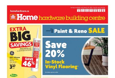 Home Hardware Building Centre (ON) Flyer March 4 to 10