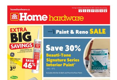 Home Hardware (Atlantic) Flyer March 4 to 10