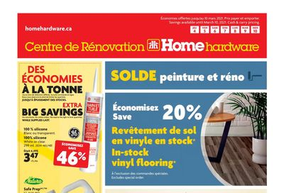 Home Hardware Building Centre (QC) Flyer March 4 to 10