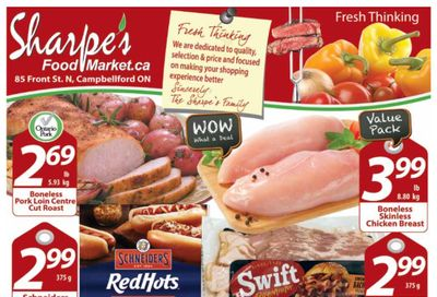 Sharpe's Food Market Flyer March 4 to 10