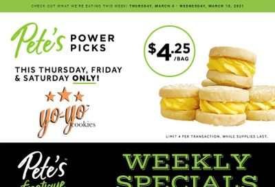 Pete's Fine Foods Flyer March 4 to 10