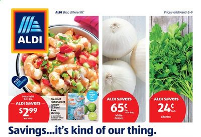 ALDI (CA) Weekly Ad Flyer March 3 to March 9