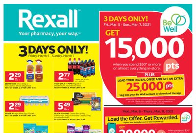 Rexall (West) Flyer March 5 to 11