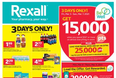 Rexall (ON) Flyer March 5 to 11