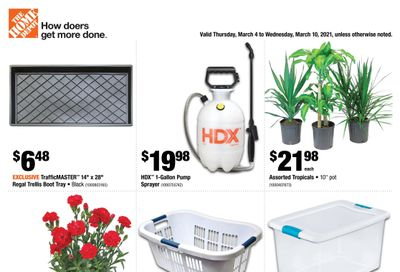 Home Depot (BC) Flyer March 4 to 10