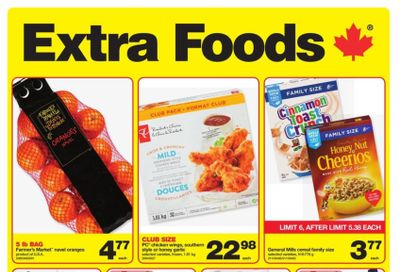 Extra Foods Flyer March 5 to 11