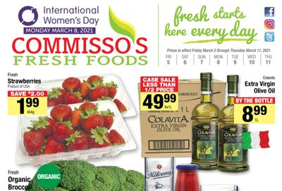 Commisso's Fresh Foods Flyer March 5 to 11