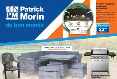 Patrick Morin Flyer March 4 to 10