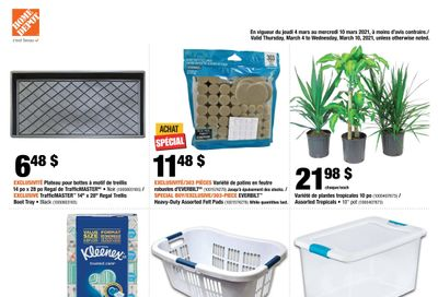 Home Depot (QC) Flyer March 4 to 10