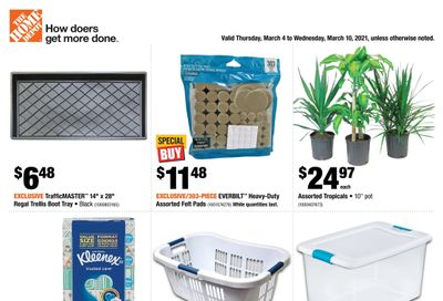 Home Depot (Atlantic) Flyer March 4 to 10